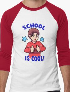 Blue's Clues: School is Cool! Men's Baseball ¾ T-Shirt