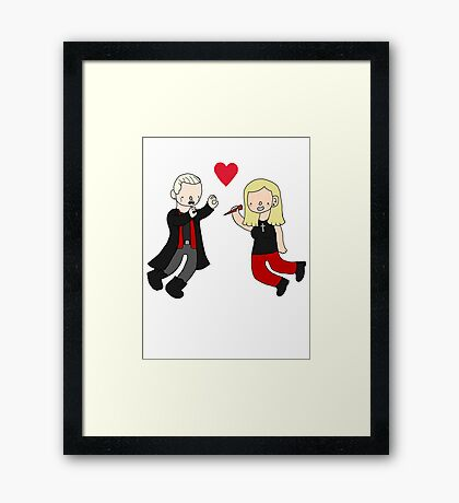Spuffy Love Framed Print