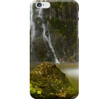 The pitchfork and the geyser iPhone Case/Skin