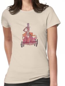 19th Century Car Enthusiast Womens Fitted T-Shirt