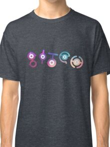 "Unown ""Bitch"" Classic T-Shirt"