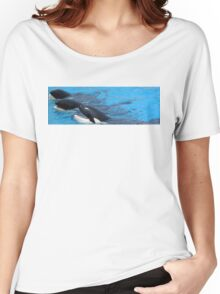 orca friends Women's Relaxed Fit T-Shirt