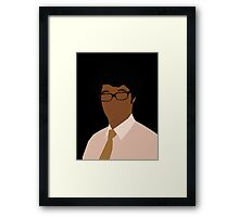 'Moss' The IT Crowd Framed Print