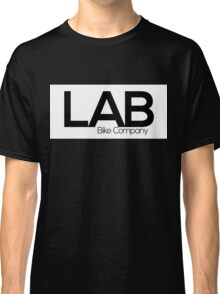 White Strip Tee - Lab Bike Company Classic T-Shirt