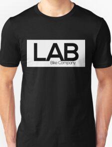 White Strip Tee - Lab Bike Company Unisex T-Shirt