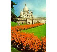 Sacre Coeur, Paris, France Photographic Print