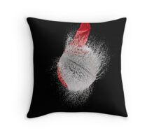 Red Balloon Pop Throw Pillow