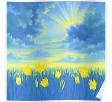 Joyful Sunrise Poster