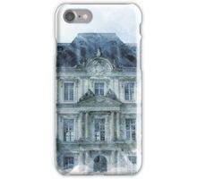 Architecture Watercolor Print iPhone Case/Skin