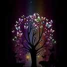 Butterfly Tree by Adamzworld