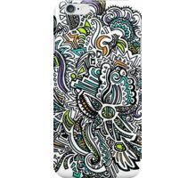 Colorful Rays of Sun Doodle iPhone Case/Skin