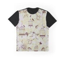 Roses & cages Graphic T-Shirt