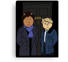 Sherlock and Friends Canvas Print