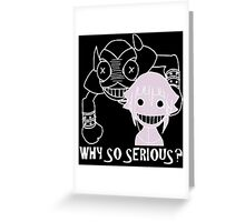 Crona and Ragnarok Smile Greeting Card