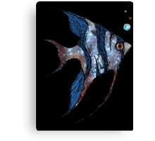 Angelfish in Space Canvas Print