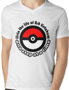pokemon ash ketchum Mens V-Neck T-Shirt