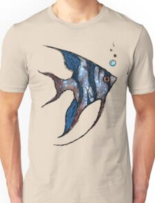 Angelfish in Space Unisex T-Shirt
