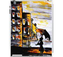 Lady in the street iPad Case/Skin