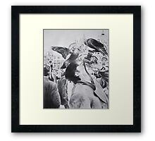 Charcoal Photography Framed Print