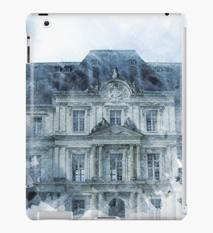Architecture Watercolor Print iPad Case/Skin