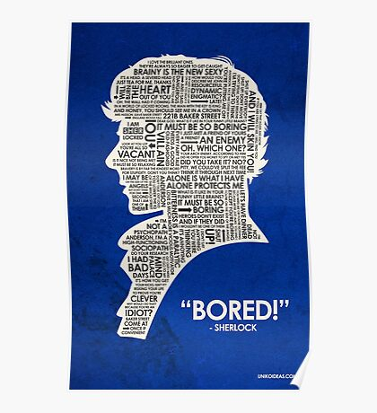 Sherlock Quote Poster
