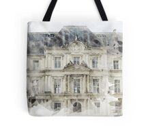 Architecture Watercolor Print Tote Bag