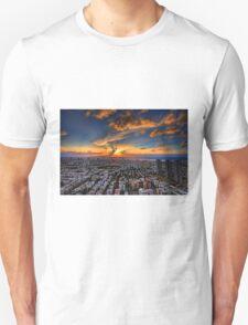 Tel Aviv, sunset time Unisex T-Shirt