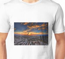Tel Aviv, sunset time Unisex T-Shirt