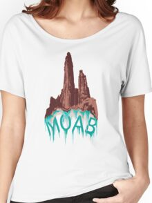 Moab Utah Climb On Women's Relaxed Fit T-Shirt