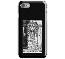 The High Priestess Tarot Card - Major Arcana - fortune telling - occult iPhone Case/Skin