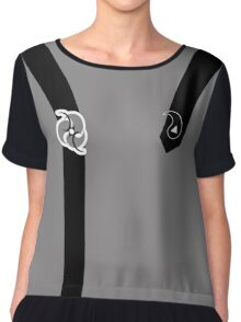 Flight Division (Enlisted) Chiffon Top
