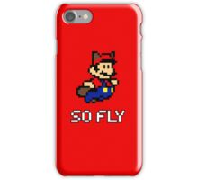 Mario is So Fly 2 iPhone Case/Skin