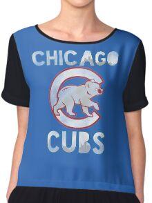 Chicago Cubs Skyline Chiffon Top