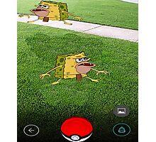 Pokemon Spongebob Photographic Print