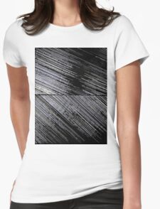 Line Art The Scratch Womens Fitted T-Shirt