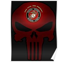 USMC Punisher Poster