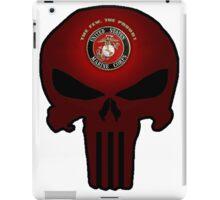 USMC Punisher iPad Case/Skin