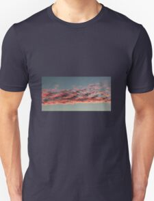 Red clouds Unisex T-Shirt