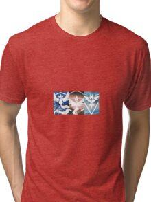 Pokemon Go Teams ( Team Mystic, Team Valor and Team Instinct) Tri-blend T-Shirt