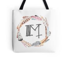 Feather Monogram M Tote Bag