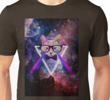 Illuminati space cat warrior Unisex T-Shirt