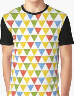 triangle abstract ethnic pattern Graphic T-Shirt