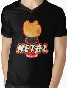 Metal - Hey Ho Lego Mens V-Neck T-Shirt