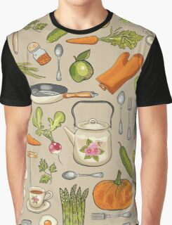Retro kitchen. Graphic T-Shirt