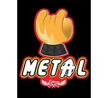 Metal - Hey Ho Lego Photographic Print