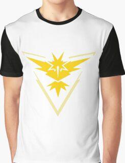 Pokemon Go Team Instinct (Yellow Team) Graphic T-Shirt