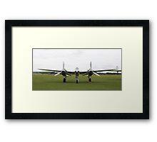 'Fork Tailed Devil' - P-38 Lightning Framed Print