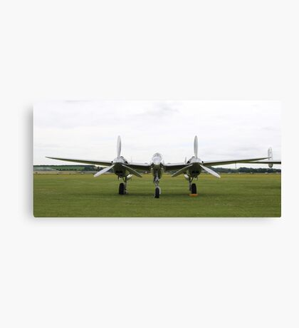 'Fork Tailed Devil' - P-38 Lightning Canvas Print