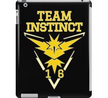 Team Instinct Pokemon Go iPad Case/Skin