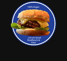 Vegan fortified with Beef on Blue Classic T-Shirt